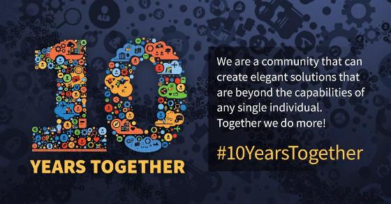 Joomla CMS 10th Birthday
